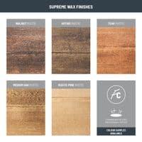 Coleridge Solid Wood Bed Frame - Low Plank Headboard